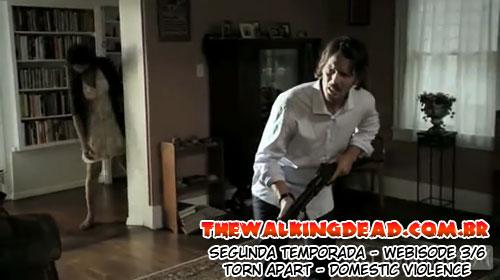 "The Walking Dead Webisodes - Torn Apart 3/6: ""Domestic Violence"""