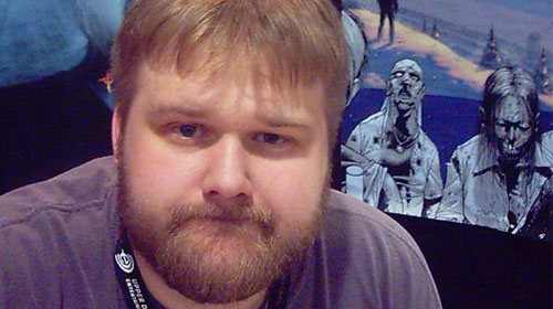 Robert Kirkman, criador de The Walking Dead