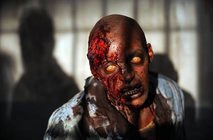 The Walking Dead 3ª temporada: zumbis