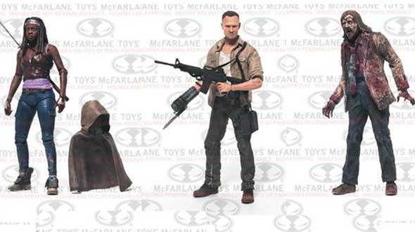 The Walking Dead 3ª temporada: figuras articuladas