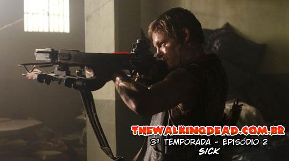 The Walking Dead S03E02 - SICK
