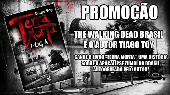 """Promoção: Ganhe o livro """"Terra Morta"""", do escritor Tiago Toy"""