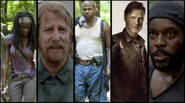 The Walking Dead Awards 2012 - Melhor personagem novo