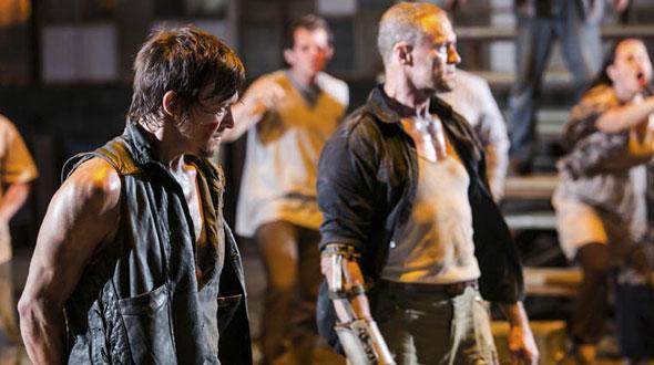 The Walking Dead 3ª Temporada Episódio 8 (S03E08) - Daryl Dixon e Merle Dixon