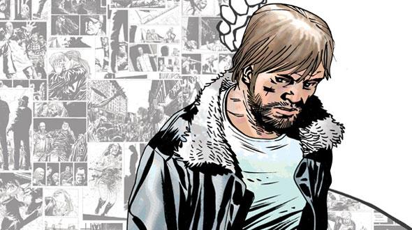 The Walking Dead 106 é a centésima edição desenhada por Charlie Adlard