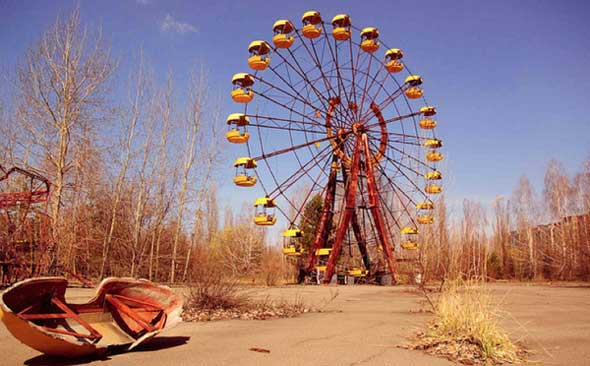 Imagens de Chernobil, 25 anos após o acidente nuclear