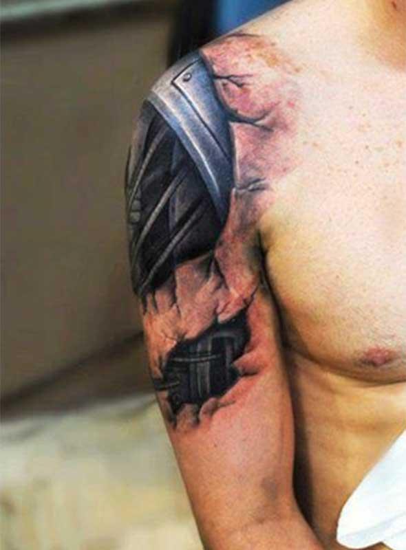Tatuagens ultra realísticas impressionantes