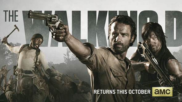 The Walking Dead 4ª Temporada: Banner da Comic-Con 2013