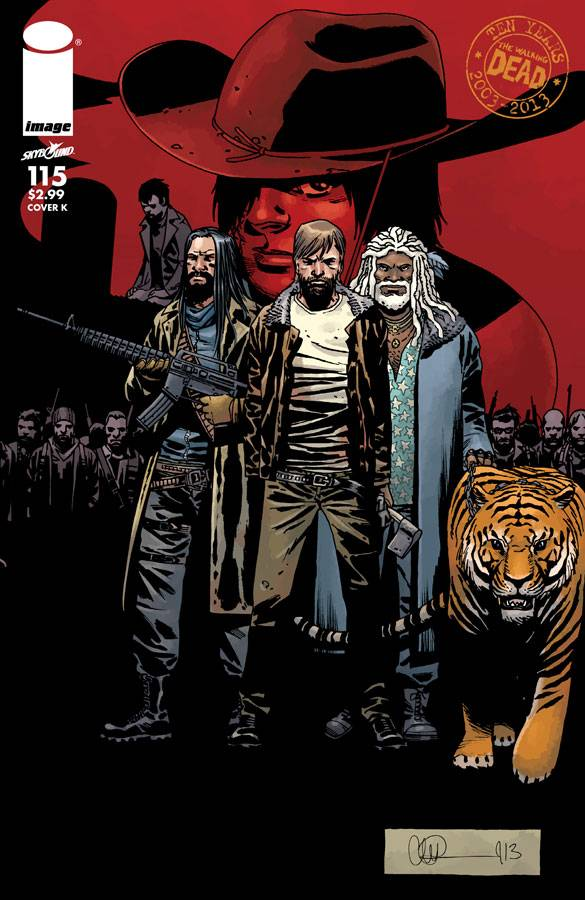 The Walking Dead 115: Capa K