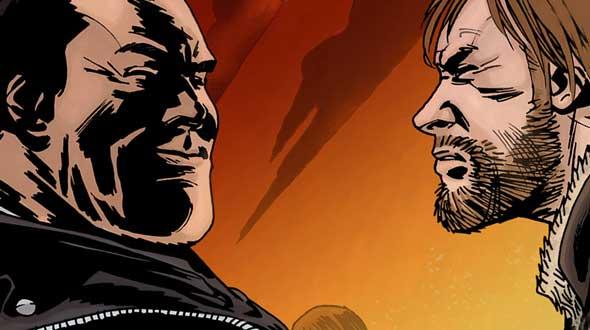 Rick e Negan