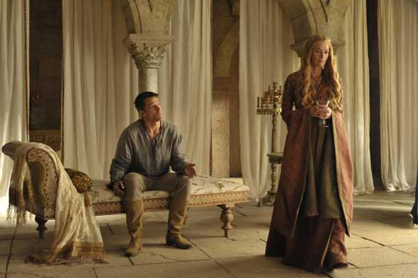Jaime Lannister (Nikolaj Coster-Waldau) e Cersei Lannister (Lena Headey)