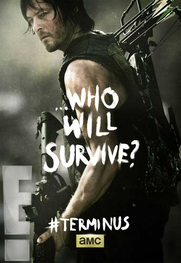 The Walking Dead 4ª Temporada: Pôsteres de Terminus para a ...