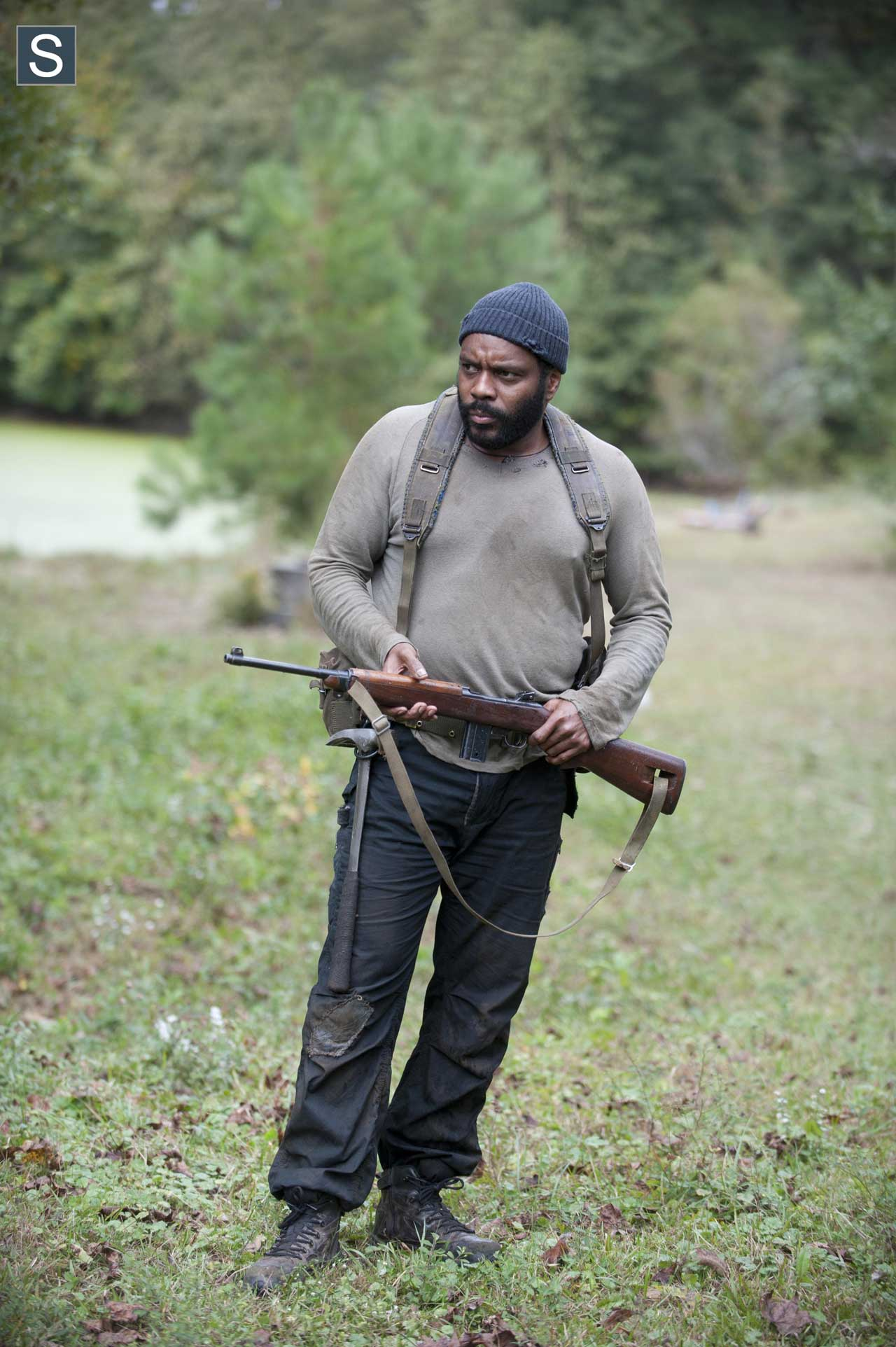 Tyreese (Chad Coleman) no 14º episódio da 4ª Temporada de The Walking Dead.