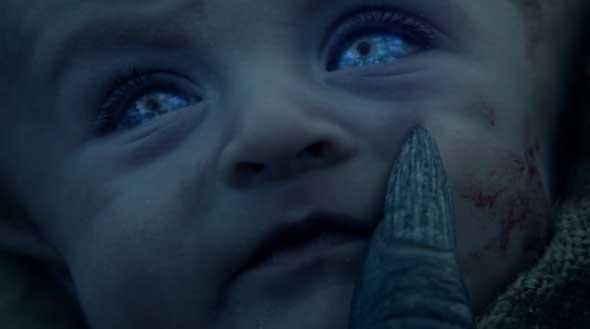 Bebê começa a se transformar