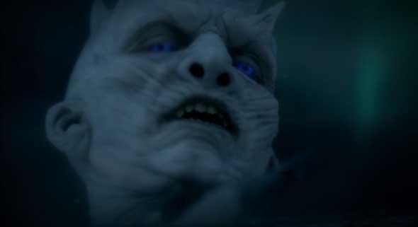 Caminhante Branco toca o último filho de Craster.