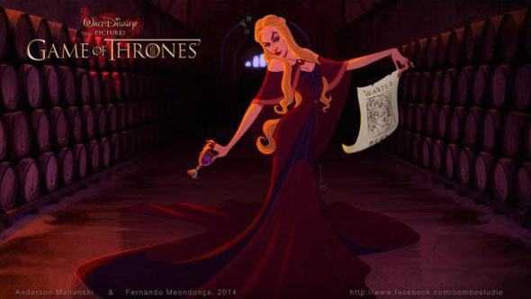 game-of-thrones-personagens-disney-cersei