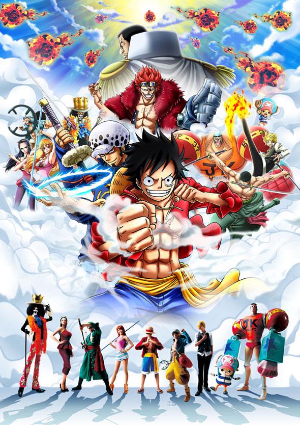 One-Piece-Premiere-Show-2014-Universal-Studios-do-Japão-Pôster