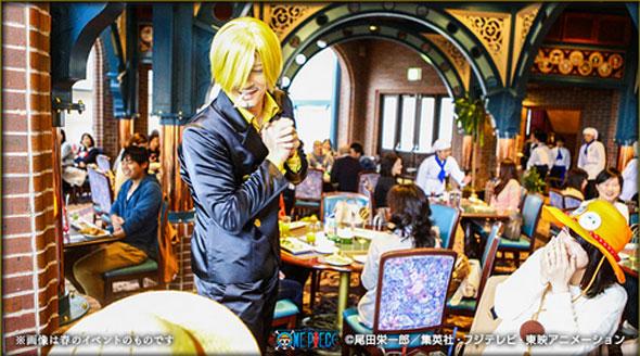 One-Piece-Premiere-Show-2014-Universal-Studios-do-Japão-Restaurante-Sanji