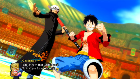 One-Piece-Unlimited-World-Red-Screenshots-Colisseum-Law-Luffy