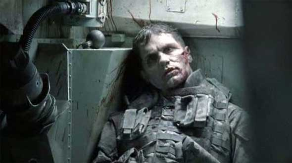 Sam Witwer, o zumbi do tanque