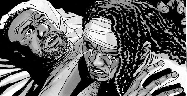 10 Melhores Casais dos Quadrinhos Michonne Tyreese