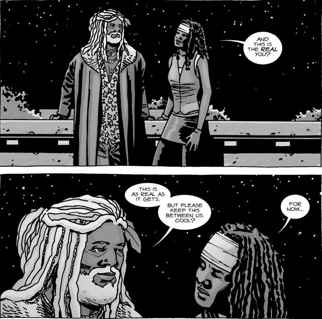 The Walking Dead HQ Melhores Casais Michonne Ezekiel