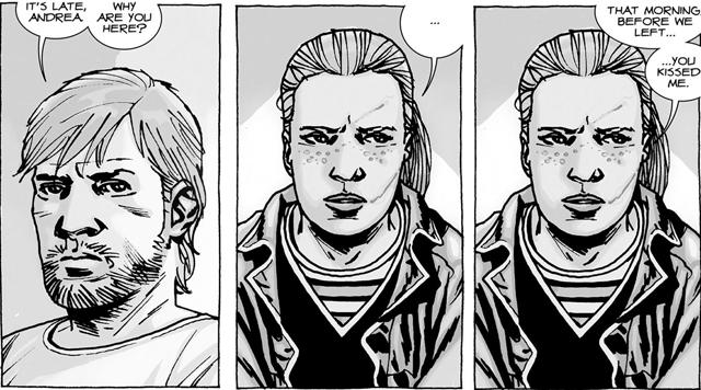 The Walking Dead HQ Melhores Casais Rick Andrea
