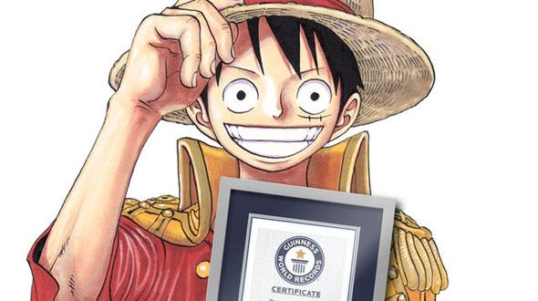 One Piece entra para o Livro dos Recordes