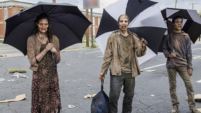 The-Walking-Dead-Imagens-Bastidores-5-Temporada-Zumbis-Guarda-Chuva1