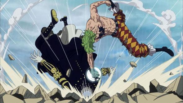 One-Piece-Capítulo-713-Bartolomeo-vs-Gladius