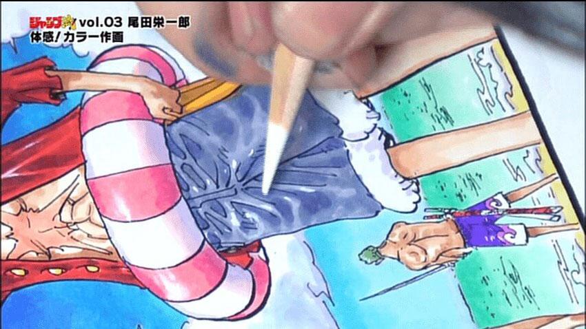 One-Piece-Eiichiro-Oda-Desenhando-Drawing-2