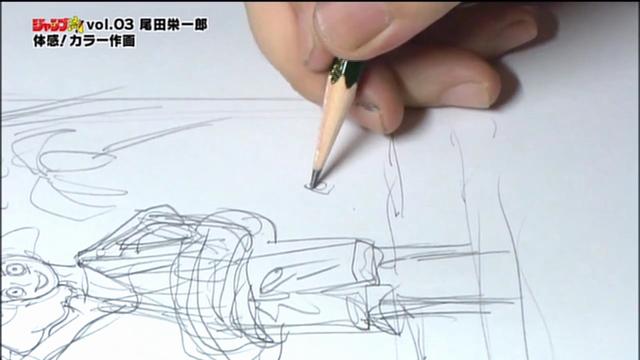 One-Piece-Jump-Ryu-Eiichiro-Oda-13-Oda-Desenhando