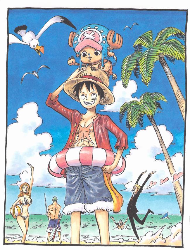 One-Piece-Jump-Ryu-Eiichiro-Oda-18-Oda-Desenhando