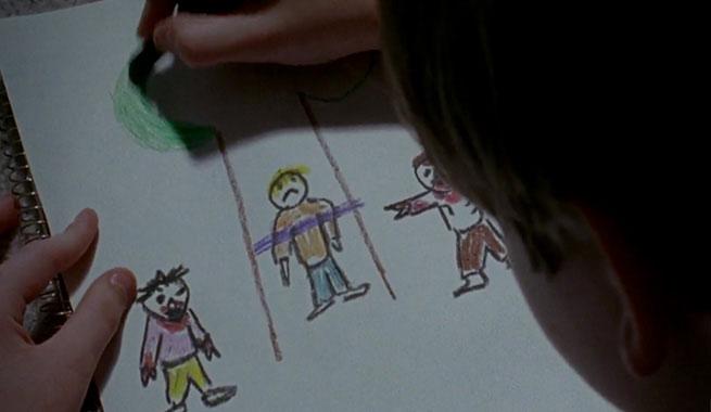 the-walking-dead-s06e08-sam-desenhando