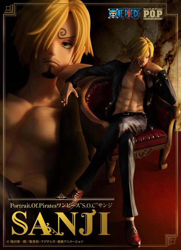 One-Piece-Sanji-Portrait-of-Pirates-SOC-0-Poster