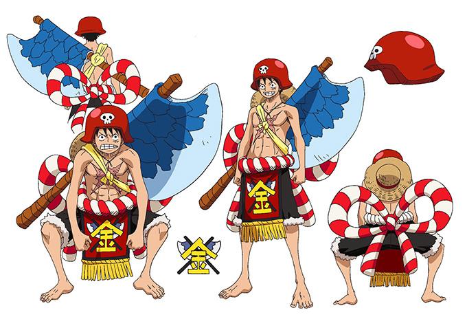 One-Piece-Film-Gold-Kintaro-Luffy-Design-1