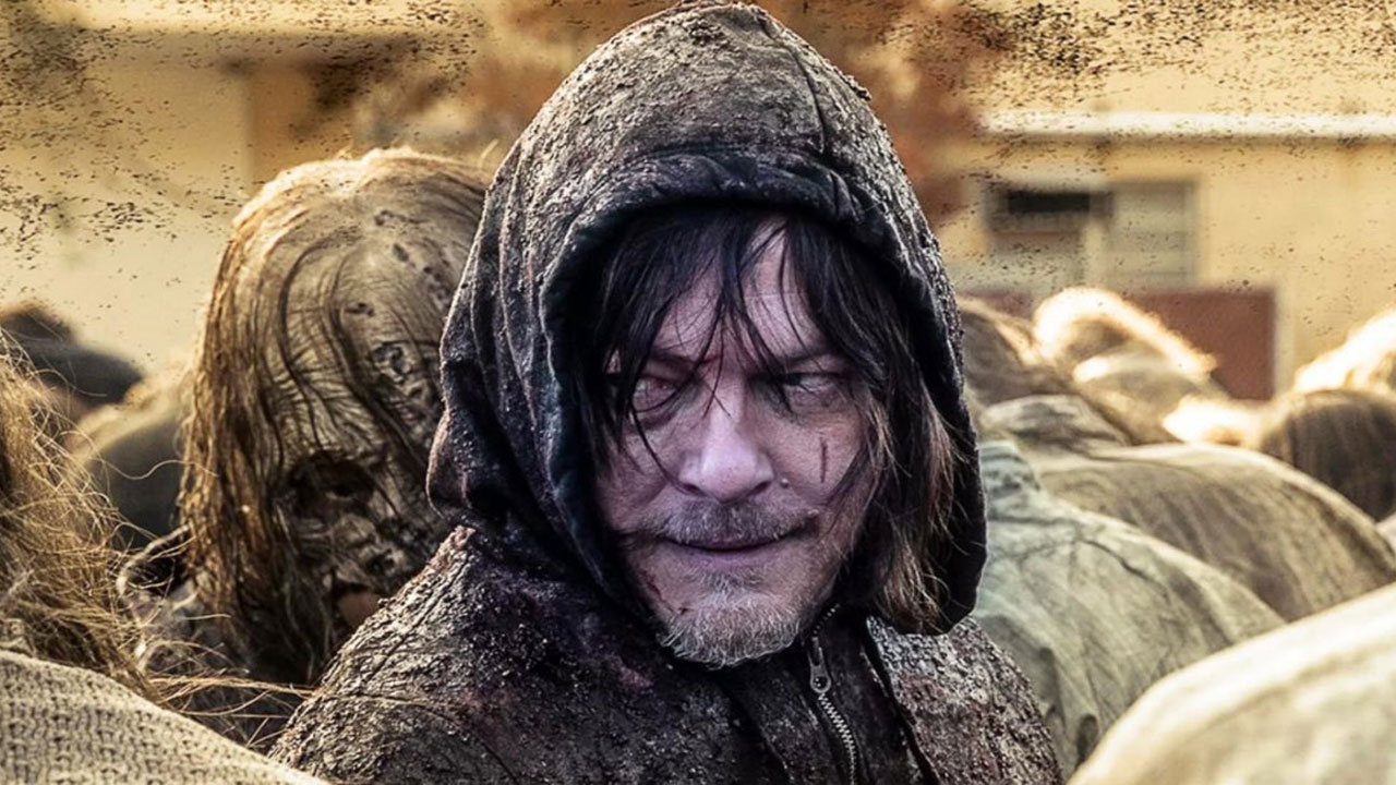 Daryl Dixon enfrenta os Sussurradores no episódio final da 10ª temporada de The Walking Dead (S10E16).