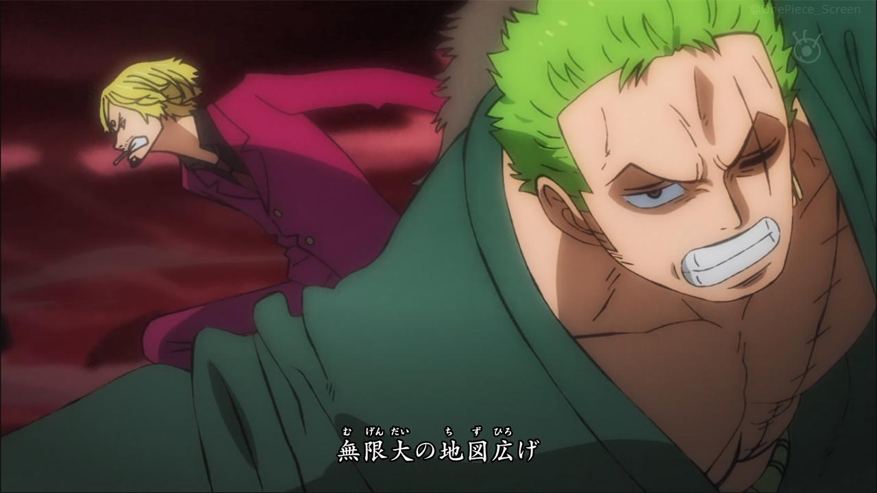One Piece | Zoro e Sanji na abertura 23 do anime.