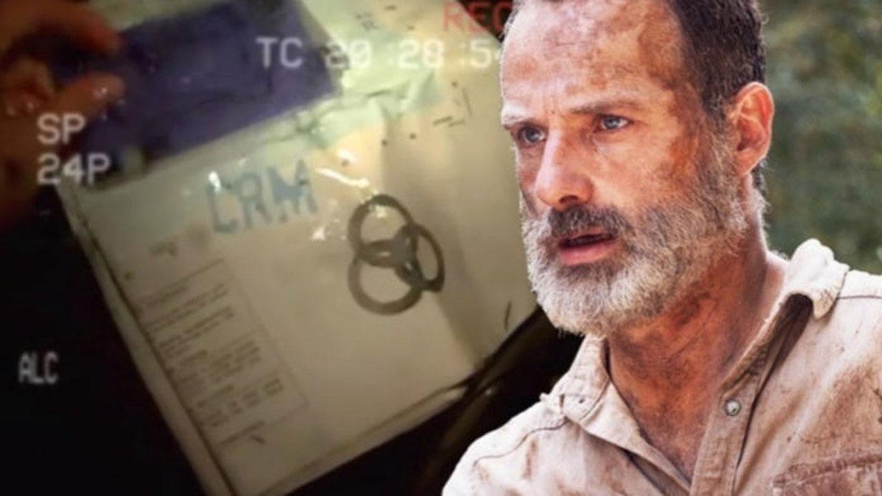 Rick Grimes e a misteriosa organização CRM.