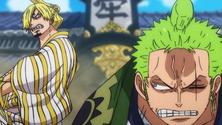 Sanji e Zoro no episódio 942 do anime de One Piece.