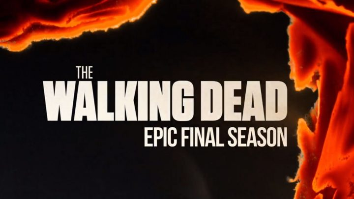 Logo da temporada final de The Walking Dead.