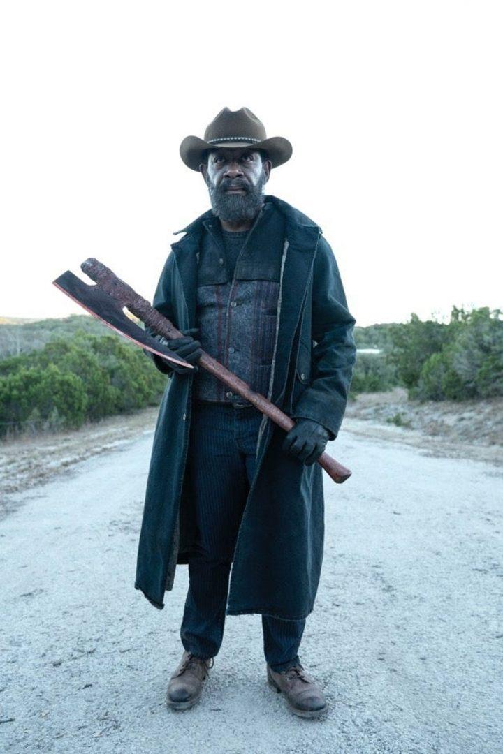 O novo Morgan Jones, no final do 1º episódio da 6ª temporada de Fear The Walking Dead.