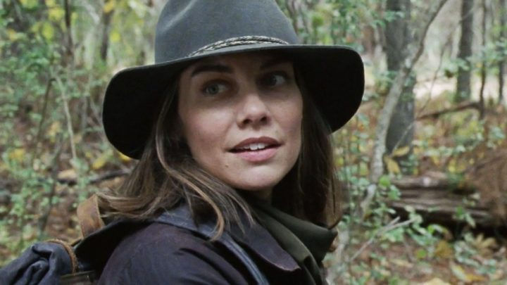 Maggie, no 16º episódio da 10ª temporada de The Walking Dead.