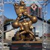 One Piece   Estátua de bronze do Franky é inaugurada no Japão