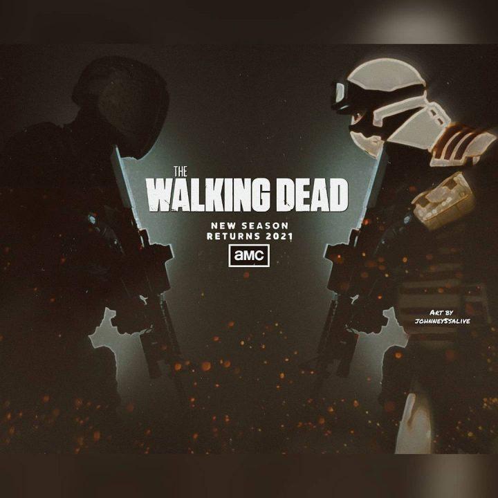 Fanart mostra CRM VS Commonwealth em The Walking Dead