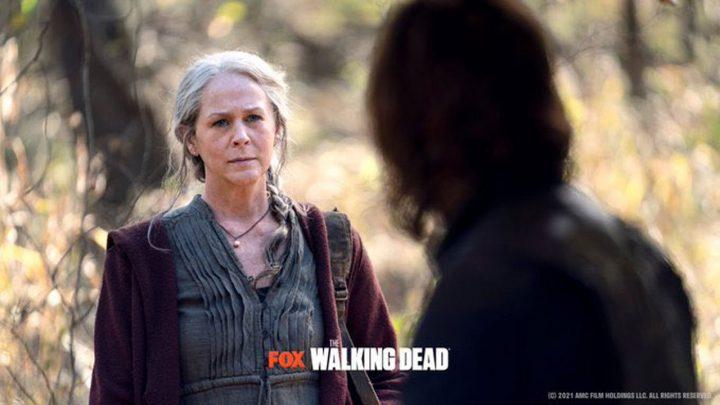 Carol e Daryl nos episódios extras da 10ª temporada de The Walking Dead.