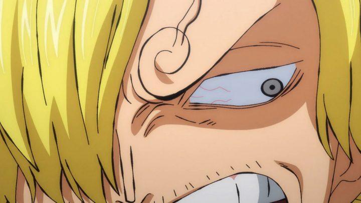 One Piece   Sanji com raiva no anime.