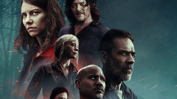 Pôster dos episódios extras da 10ª temporada de The Walking Dead.