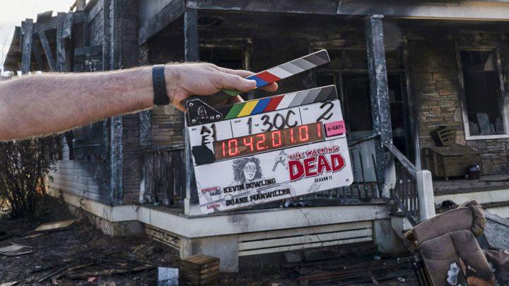 Primeira imagem dos bastidores da 11ª temporada de The Walking Dead.