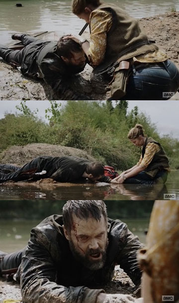 A morte de John Dorie, no 8º episódio da 6ª temporada de Fear The Walking Dead.